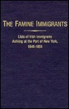 Famine Immigrants Book Cover