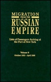 Migration from the Russian Empire book cover